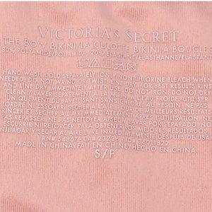 Victoria's Secret Swim - Victoria's Secret Bow Purple String Bikini Bottom